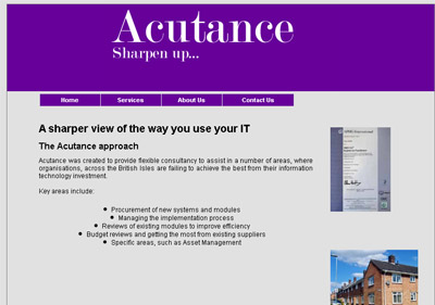 Click here to choose to access Acutance Housing Consulting
